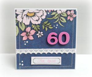 Kartka z okazji 60 urodzin