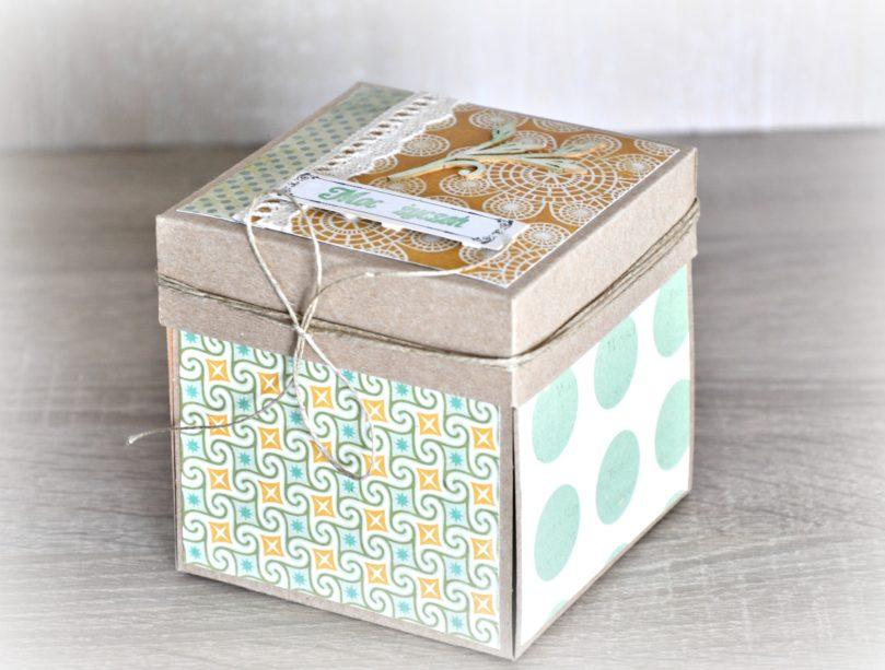 exploding box dla Mamy z okazji urodzin