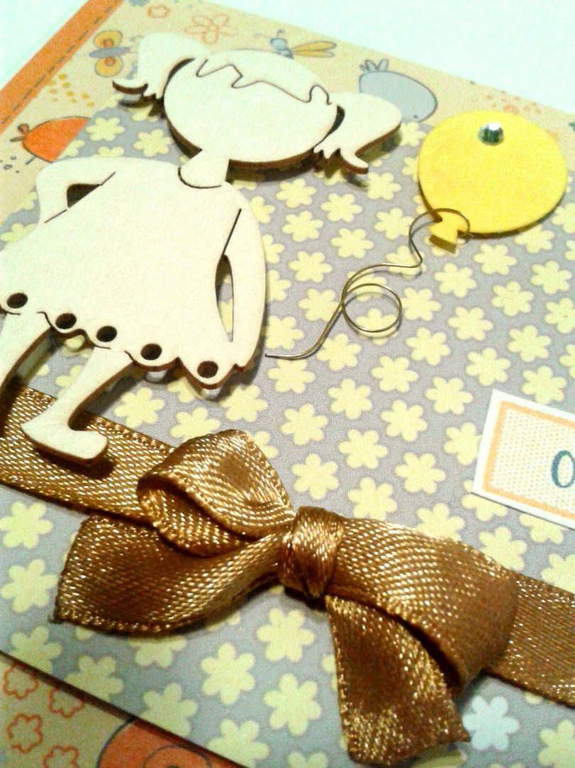 Kartka dla dziewczynki na urodziny