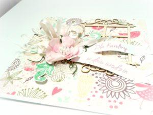 Kartka urodzinowa handmade Wroclaw 2