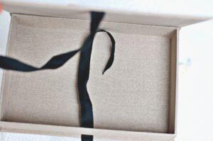 pudełeczko na skarby dla noworodka.