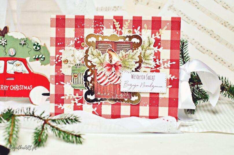 Album w świątecznych kolorach do samodzielnego wklejenia zdjęć